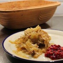 kålpudding-lergryta-lingonsylt