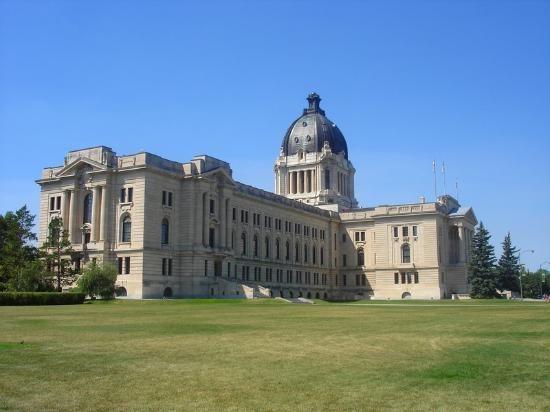 Legislative Building, Regina.
