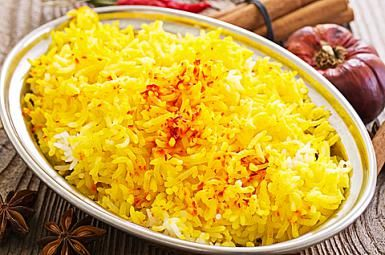 Super Simple Saffron Rice That's Incredibly Affordable: Beautiful, Yummy Saffron Rice!