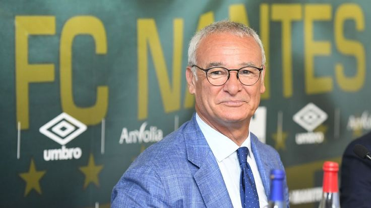 New Nantes manager Claudio Ranieri wants to leave Leicester in past