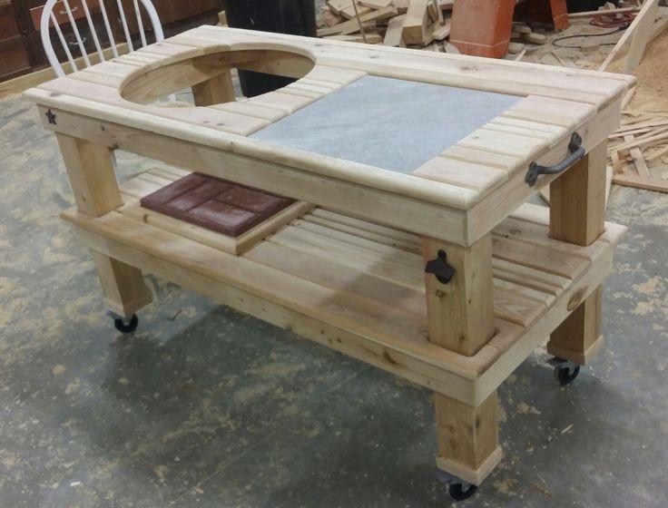 25 best ideas about big green egg table on pinterest. Black Bedroom Furniture Sets. Home Design Ideas