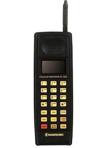 1988 : le premier téléphone#Samsungvient au monde! Hello SGH-100 !