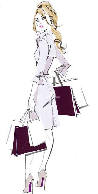 illustration | fashion | Design Innova | Ilustrações de Moda | Jacqueline Bisset | ram2013