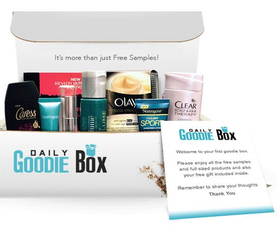 Share your reviews with the Daily Goodie Box community and keep getting FREE samples by mail.  Sign up to receive your first box in July.
