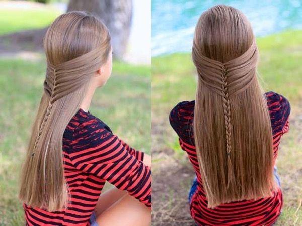 Повседневные прически с плетением на длинные волосы. Фото и видео-уроки