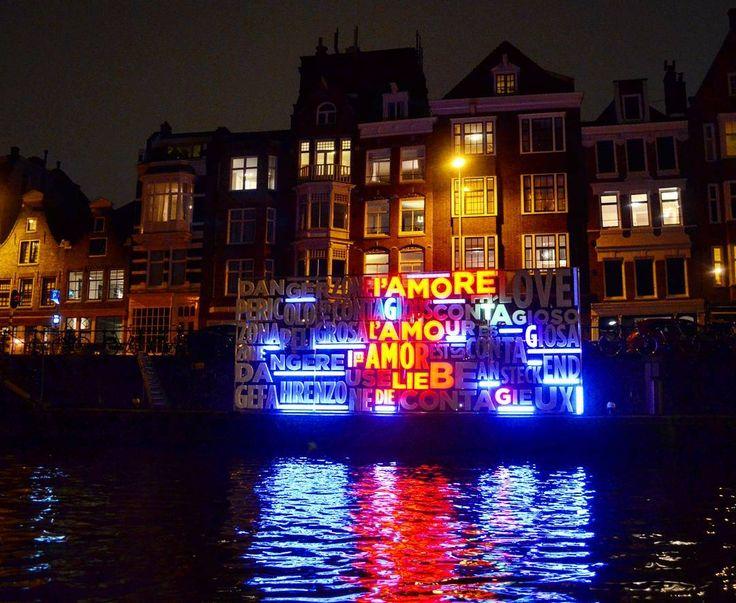 Amsterdam Light  Festival: Together  by Luigi Console & Valentina Novembre.