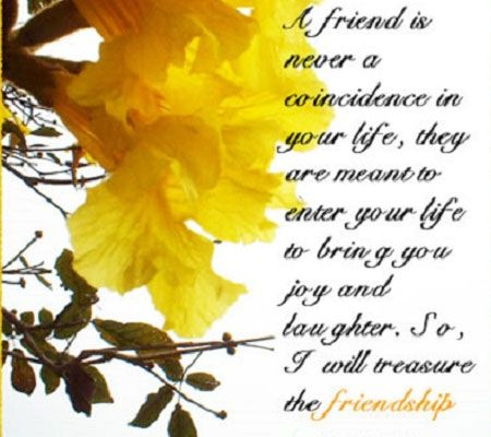 Treasure The Friendship | Zquotes