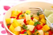 SCD Apple Salsa (*Use olive oil & substitute honey for maple syrup...)