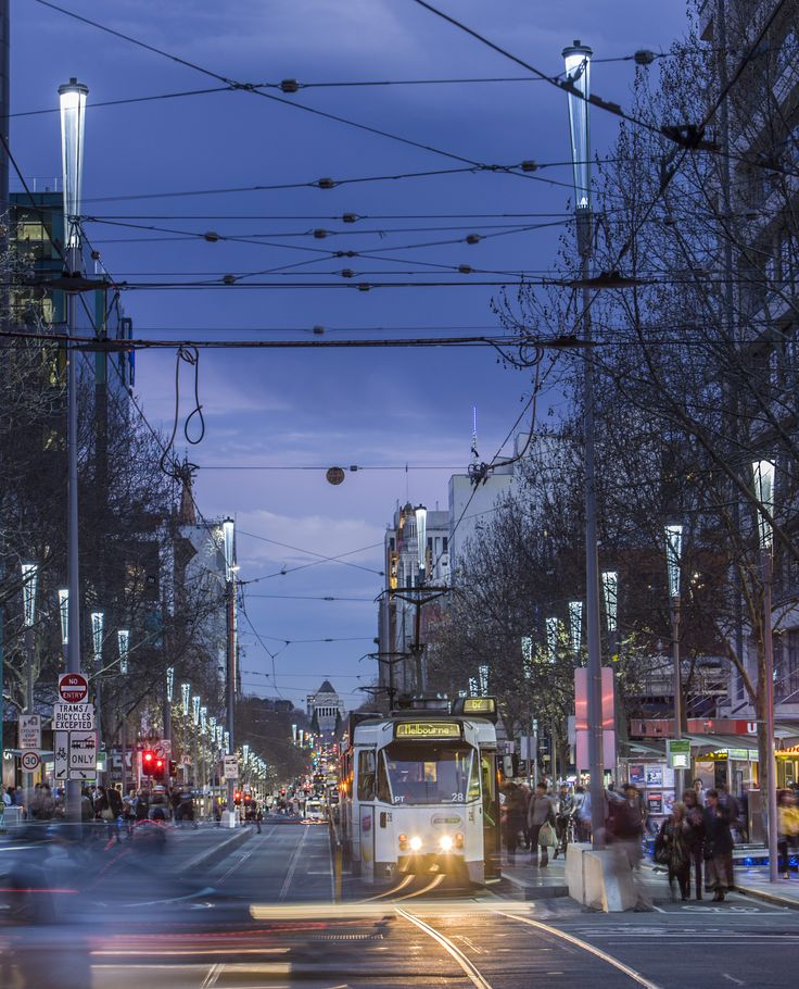 Swanston Street | City of Melbourne / Urban Design Award / Photo by David Simmons