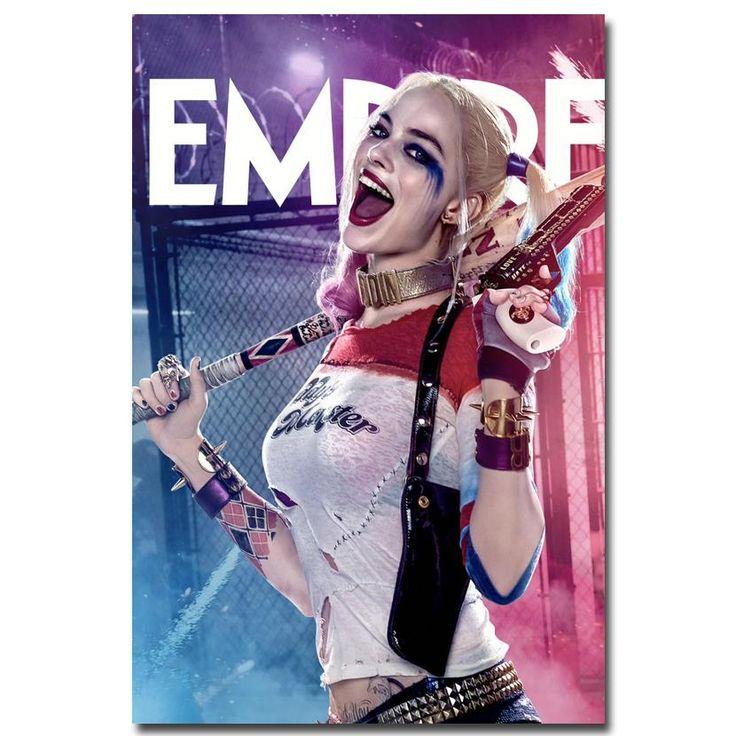 Harley Quinn Art Silk Poster DC World Shop http://dcworldshop.com/harley-quinn-art-silk-poster/    #suicidesquad #superhero #dcuniverse #bataman #superman