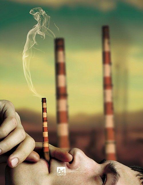 Campaña anti-tabaco: Fumar ni cura, ni pone más guapa, ni te hace parte de un grupo, menos te ayuda a ahorrar; todo lo contrario.