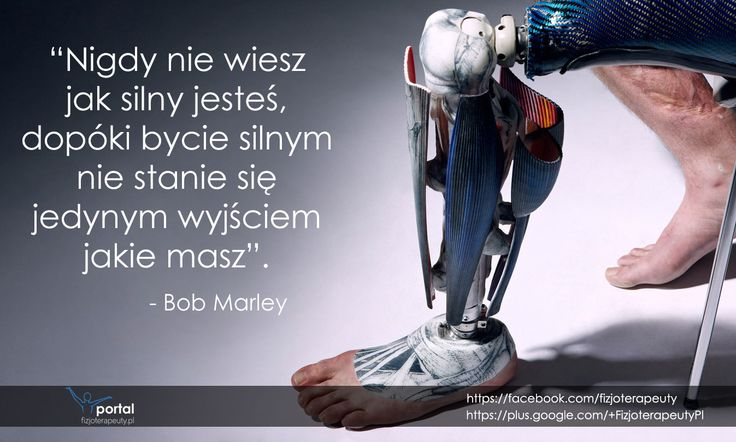 Bob Marley bardzo dobrze to ujął... #zdrowie #fizjoterapia #rehabilitacja #cytaty #motywacja
