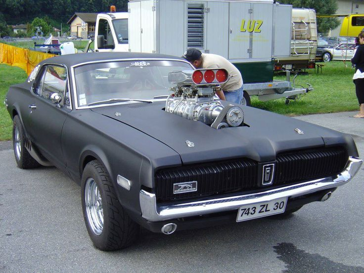 Blown Mercury Cougar ( The Car Mad Max Should Have Had