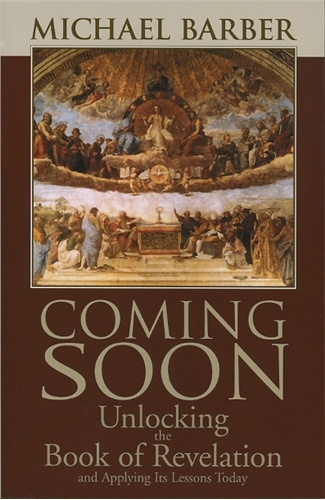 Coming Soon is a verse-by-verse commentary on the Book of Revelation using the Revised Standard Version: Catholic Edition of the Bible. Barber provides a Catholic interpretation, which sees the liturgical background of this book of Scripture—a perspective missing in many Protestant commentaries. Questions at the end of each chapter help promote discussion and reflection.