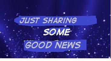 http://www.bubblews.com/news/622752-sharing-some-good-news-here