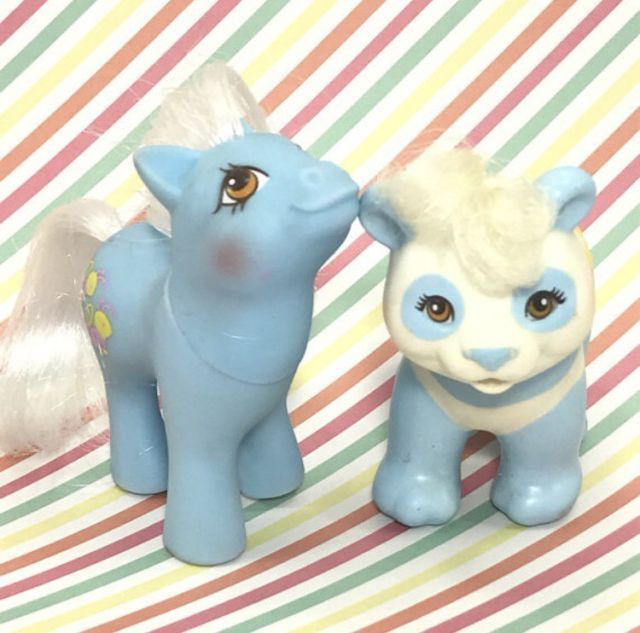 Vintage My Little Pony Baby Nectar & Stripes Panda Pretty Pals Set | eBay