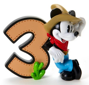 Disney's Mickey Mouse Birthday Numbers