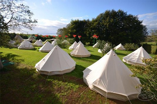 tents for after reception Hotel Bell Tent – The perfect accompaniment to your Festival Wedding
