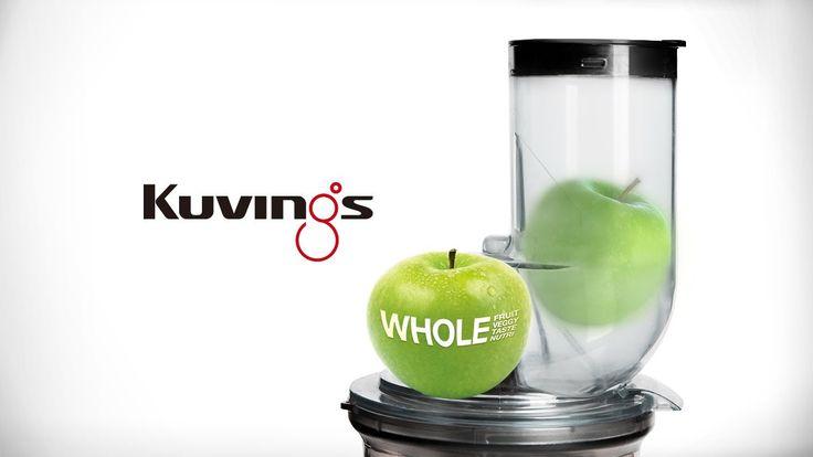 MERE NÆRING LÆNGERE HOLDBARHED - Witt by Kuvings slowjuicer presser hele frugter og grøntsager, hvilktet betyder, at du nu kan 'slowjuice' uden at skære dine ingredienser ud i små stykker. Med indføringsrøret bliver det nemt og hurtigt at lave en sund og næringsrig klodpresset juice. #inspirationdk #køkken #køkkenudstyr #wittbykuvings #Juice