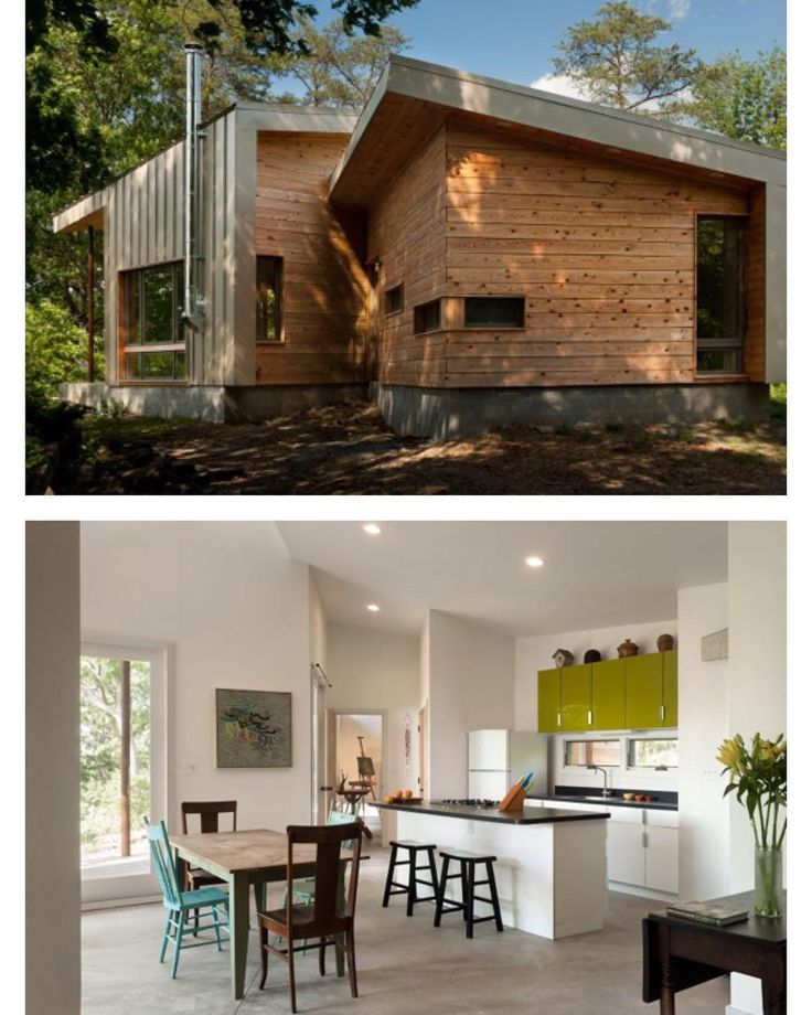 "1,026 Me gusta, 10 comentarios - Tiny House Magazine (@tinyhousemag) en Instagram: ""West #Virginia Home by GriD Architects 