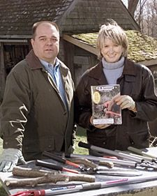 Martha's gardener (I think) provides a useful list of tips about which tool to use for what.  Pruning Tools | Martha Stewart