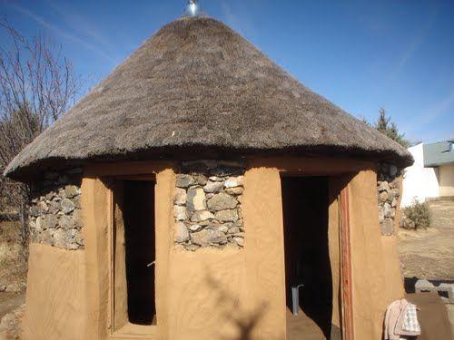 Basotho Hut at LCE Thaba-