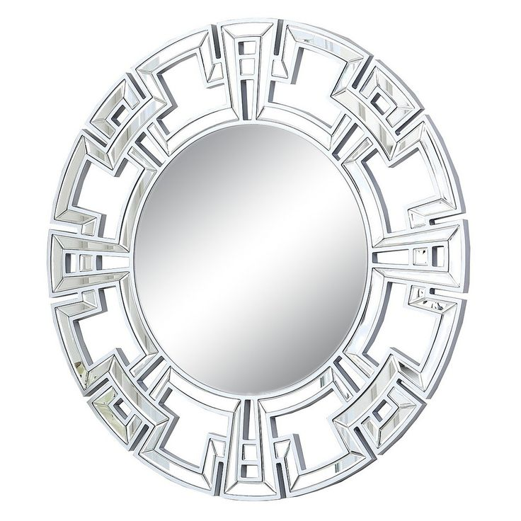 Abbyson Kaydence Round Mirror