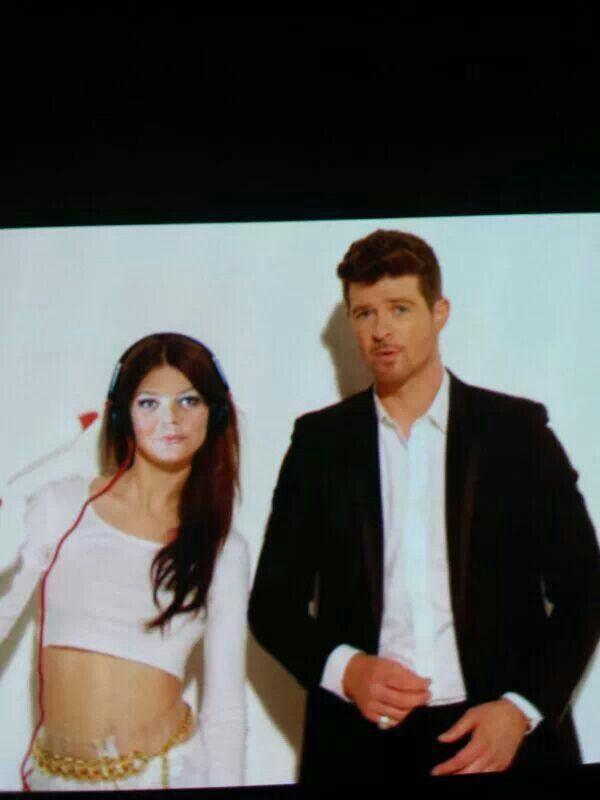 Me with Mr Thicke...