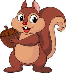 Image result for acorn clipart squirrel