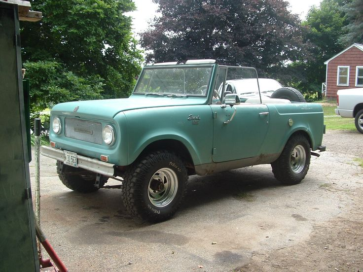"""An International Harvester Scout would be my """"play car""""."""