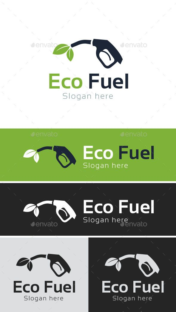 Eco Fuel Logo Template Logo Templates Branding Design Logo