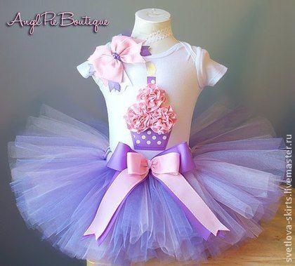 Одежда для девочек, ручной работы. Ярмарка Мастеров - ручная работа Комплект для первого дня рождения. Handmade.