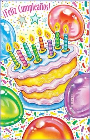 Spanish Birthday Cards