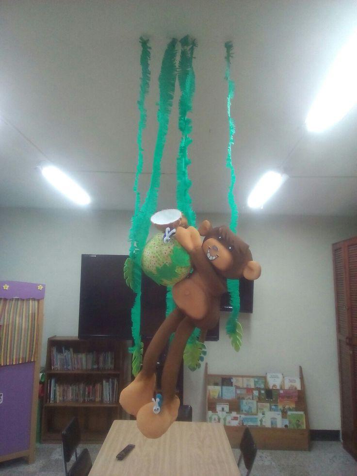 Mono con coco