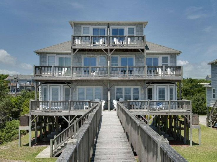 Bella Mar West - Emerald Isle Duplex for Rent has 4 bedrooms and a fabulous view from a comfy crows nest.