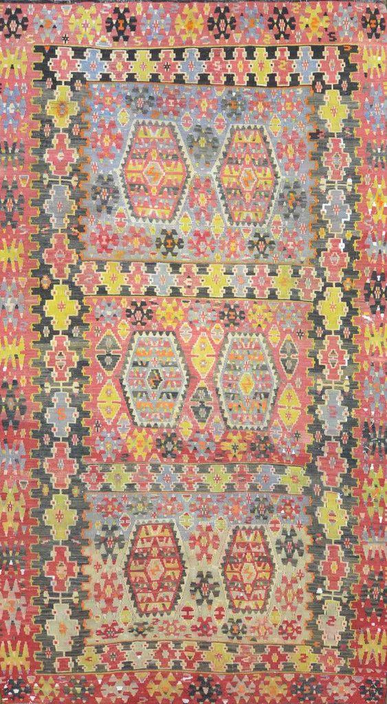 "Carpet Culture - TURKISH OLD RUG - 5' - 8"" X 10' - 2""  - CC1627"
