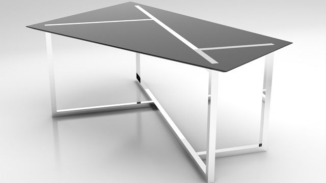 This futuristic table design looks like it literally came from the future.