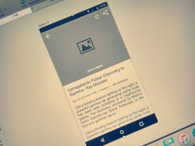 Discovery News Detailed Page - Wireframing by Chandresh Gandhi