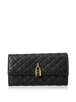 28% OFF Dolce & Gabbana Women's Quilted Wallet, Black
