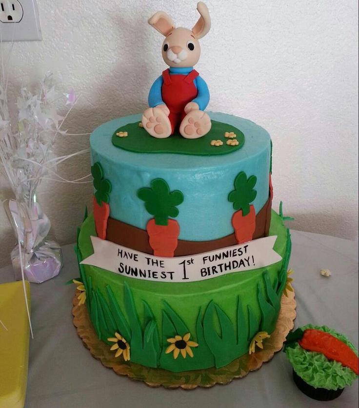 Harry the Bunny cake!