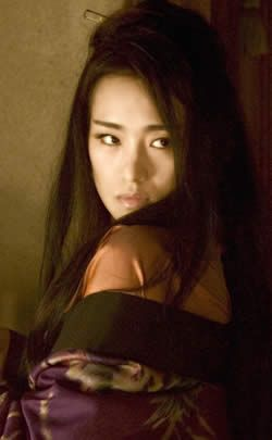 Gong Li - as the Geisha, Hatsumumo. So beautiful but so jealous and cruel... brilliant acting