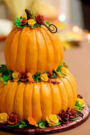 Best 25 fall birthday cakes ideas on pinterest for 3 tier pumpkin decoration