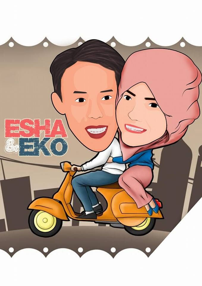 Happy Anniversary Esha & Eko..