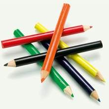 Promotional Colour pencil set in a box 6 pcs