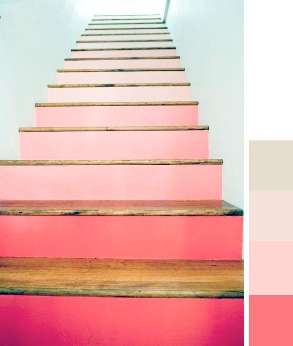 Rénover un escalier en couleur