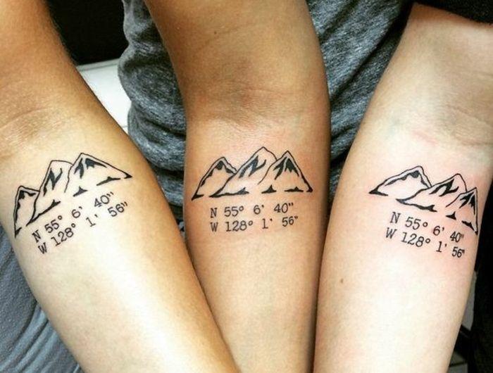 Le tatouage montagne , qu\u0027est,ce qu\u0027il symbolise et quelles sont