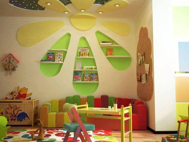 Teenage Gypsum board decoration http://www.learndecoration.com/