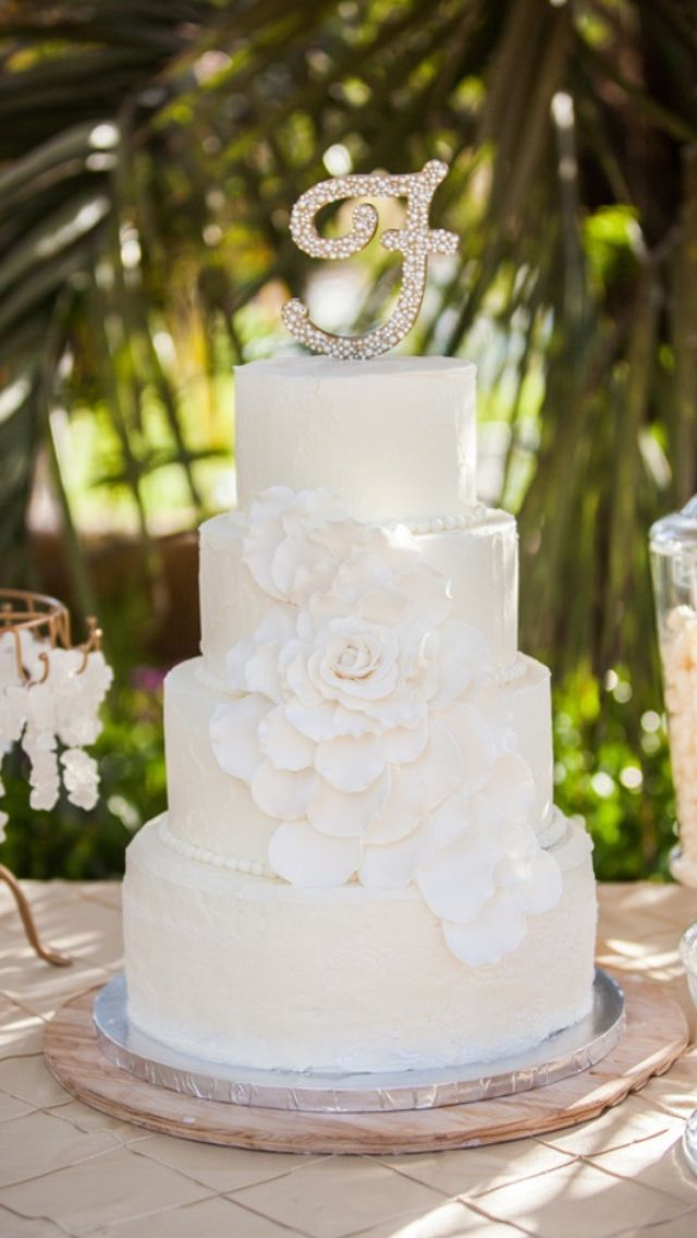 Cake Art Rabia : 912 best images about Cake - 4 Tier Wedding Cakes on ...