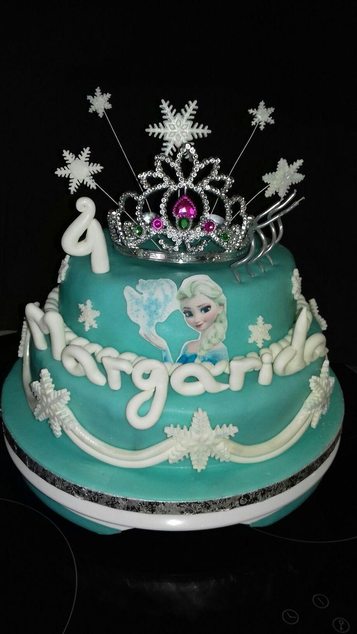 Frozen princesa Elsa Cake design