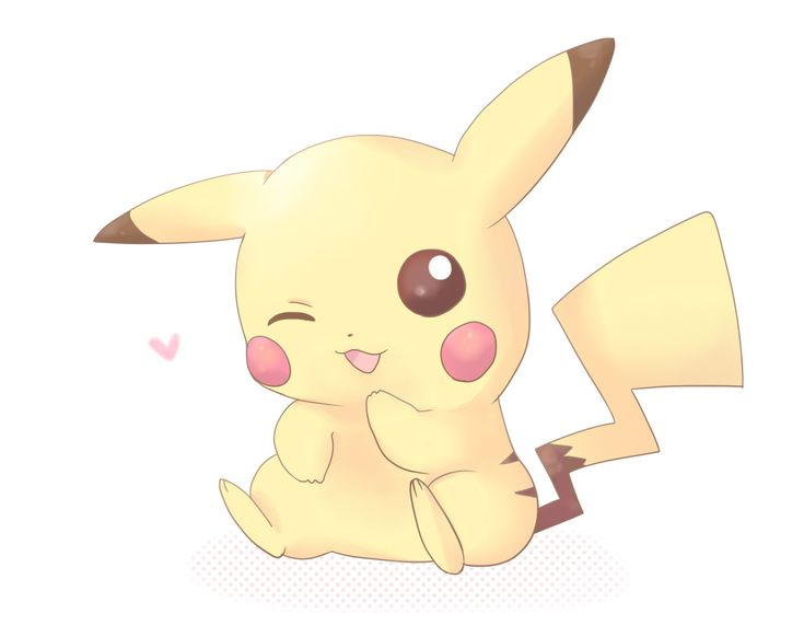 pikachu winking at you